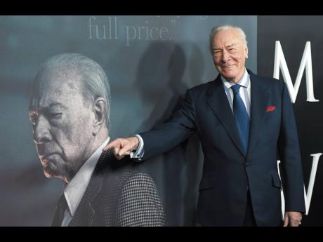 Christopher Plummer arrives at the world premiere of 'All the Money in the World' on December 18, 2017, in Beverly Hills, California.