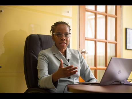National epidemiologist Dr Karen Webster-Kerr