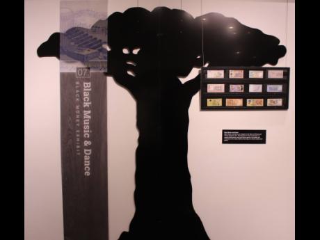 Money Tree Installation – Black Money Exhibit.