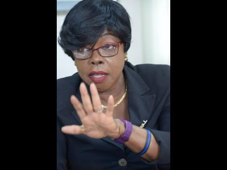 Novelette Grant, retired deputy police commissioner.