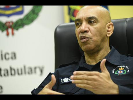Commissioner of Police Major General Antony Anderson