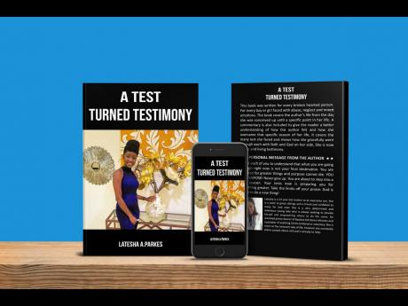 'A Test Turned Testimony' is Parke's memoir recounting her journey through sexual, emotional, physical and domestic abuse.