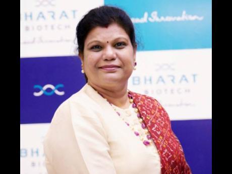 Suchitra Ella, co-managing director of Bharat Biotech International.