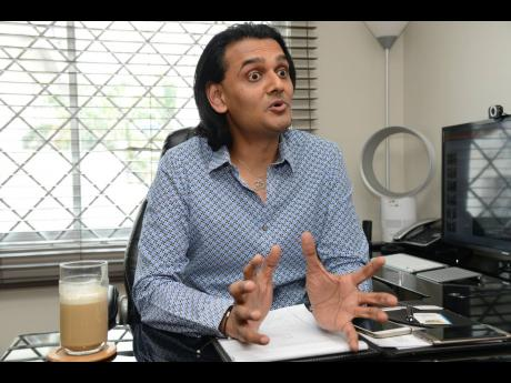 Dushyant Savadia, founder and CEO of the Amber Group.