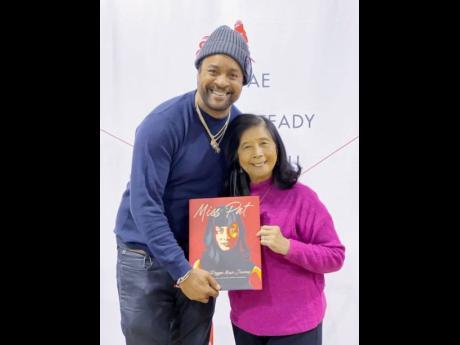 Patricia Chin and Grammy Award-winning reggae artiste, Shaggy.