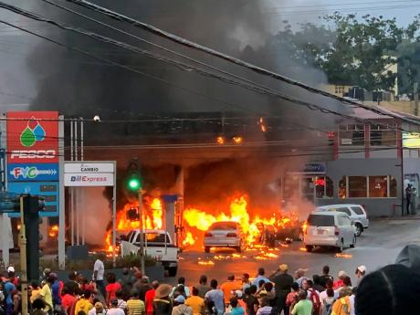 Exactly one year ago, the popular Heaven's Fesco Service Station in Mandeville, Manchester was rocked by an explosion that killed one person, injured several others and racked up millions of dollars in damage.