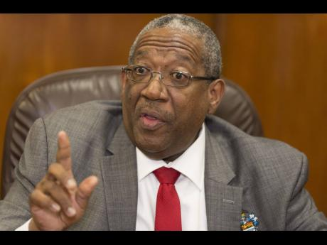 University of the West Indies, Mona Principal Professor Dale Webber.