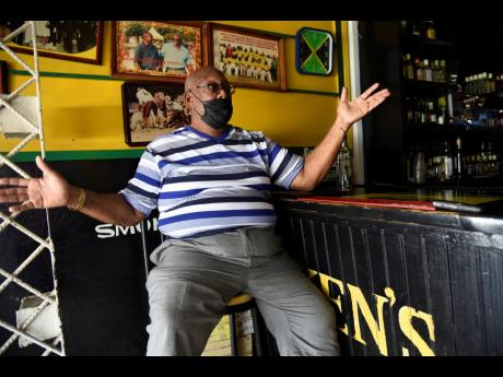 Lester Crooks, owner of Ken's Wildflowers in Portmore, St Catherine, says his business has been hit hard by the early closing time due to the curfew, and no events are being booked.
