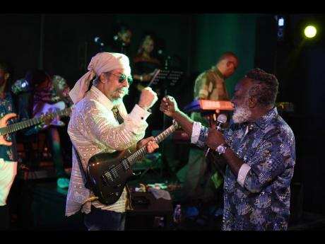 Reggae icon Freddie McGregor (right) was the first recipient of the Black History Month meets Reggae Icon Award and this year's recipients include reggae ambassadors Third World.