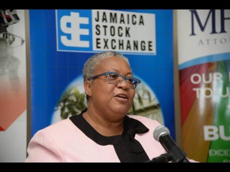 Marlene Street Forrest, managing director, Jamaica Stock Exchange.