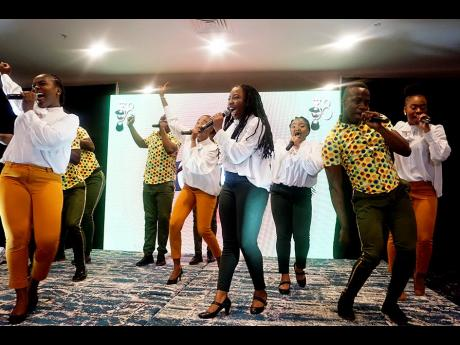 The ASHE Company performs at IRAWMA media launch in 2020.