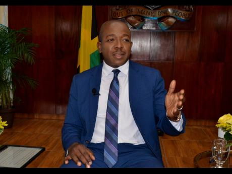 Minister of Housing, Urban Renewal, Environment and Climate Change, Pearnel Charles Jr.