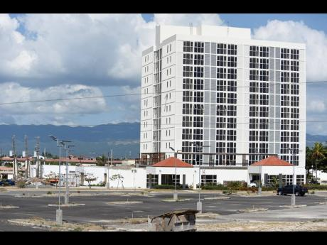 The old Forum Hotel in Portmore. A proposal has been made for more multi-storey residential and commercial buildings to be constructed in the St Catherine region.