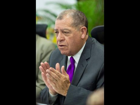 Minister of Industry, Investment & Commerce Audley Shaw.
