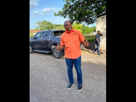Lothan Cousins, member of parliament for Clarendon South Western.
