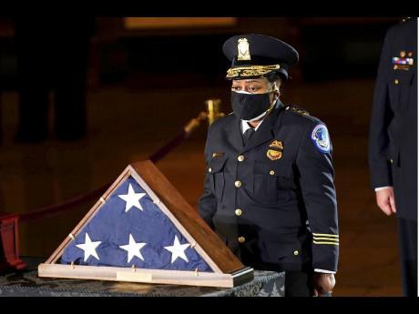 Acting US Capitol Police Chief Yogananda Pittman.