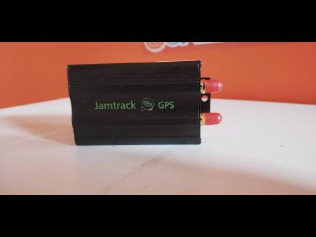 GPS tracking device.