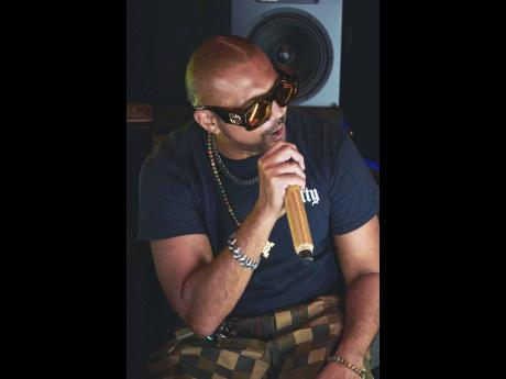 Sean Paul at his virtual album listening party last Friday.