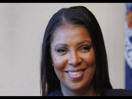 New York Attorney General Letitia James.