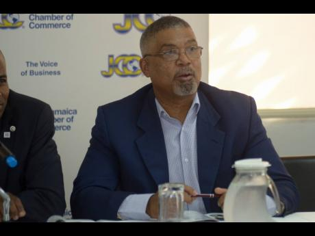 Michael McMorris, vice president of the Jamaica Chamber of Commerce.