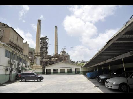 The Caribbean Cement complex at Rockfort, Kingston.