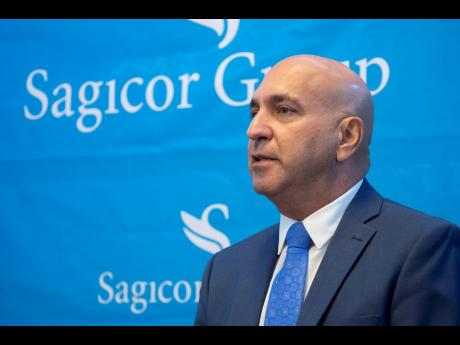 Christopher Zacca, chairman of Sagicor Real Estate X Fund Limited, and president and CEO of Sagicor Group Jamaica.