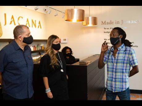 Reggae star Jesse Royal (right) talks about the tremendous impact ganja has on Jamaica and the world and why he decided to partner with Jacana.