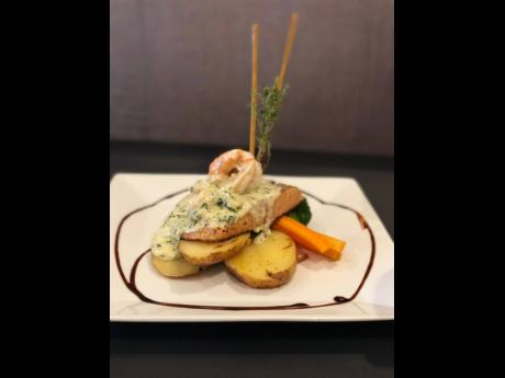 1. Fromage Bistro wowed diners with this unforgettable salmon florentine, which was specifically created for Restaurant Week and later became a regular menu item.