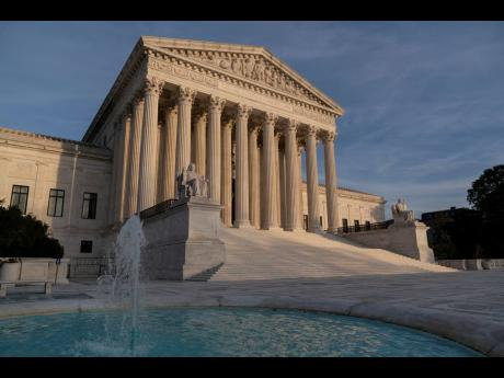 The US Supreme Court in Washington.