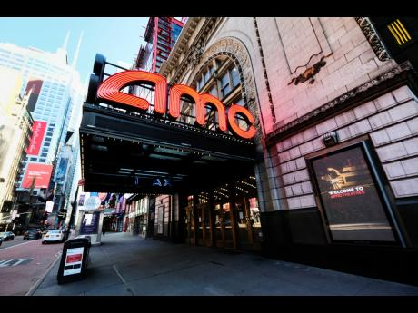 The AMC Empire 25 theatre is one of several theatres in New York to reopen on Friday.