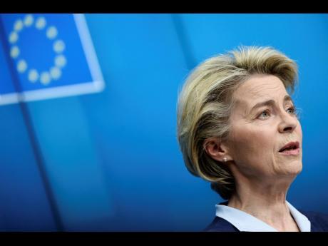 European Commission President Ursula von der Leyen.  AP