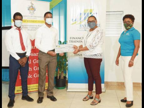 The Jamaica Institute for Financial Services (JIFS), in collaboration with The University of the West Indies (UWI), Mona campus Banking League, a student-led organisation, provides an annual education grant to a student in the Faculty of Social Sciences. H