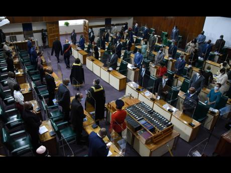 Official opening of Parliament 2021.