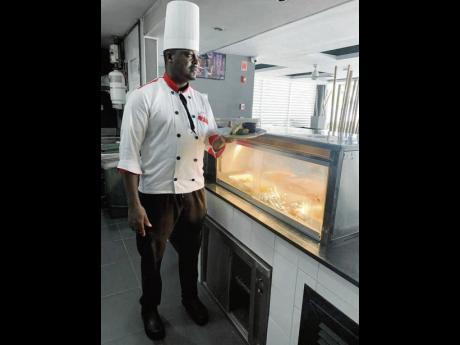Oneil Vernon is the first Jamaican appointed executive chef for RIU's local operation.