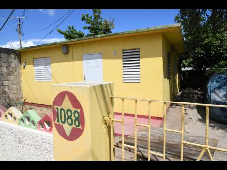 Rudolph Brown/Photographer  The house in Braeton, St Catherine, where seven young men were killed in a police operation 20 years ago as cops went in search of suspects in the killing of a school principal hours earlier.