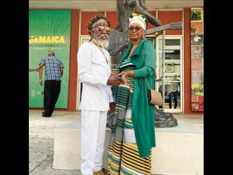 Noting that the late Bunny Wailer (left), was her 'protector, partner and friend', Maxine Stowe has vowed to carry out his wishes.