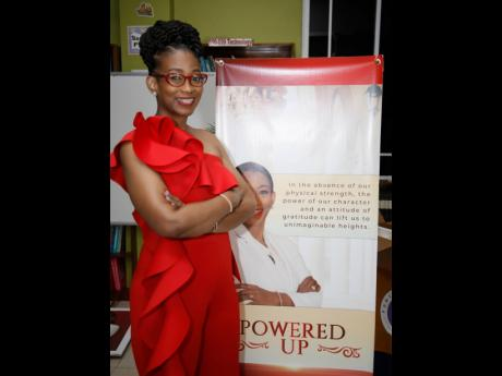 Dr Marsha Smalling, principal of Glenmuir High School, during the virtual launch of her book 'Powered Up' on Sunday, March 7.
