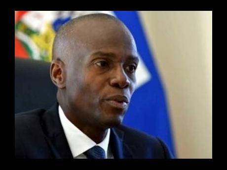 President Jovenel Moïse.