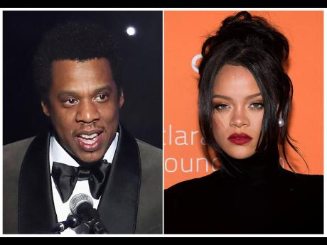 Jay Z and Rihanna are Cardi B's role models.