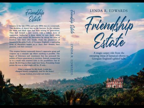 The book cover of 'Friendship Estate'.
