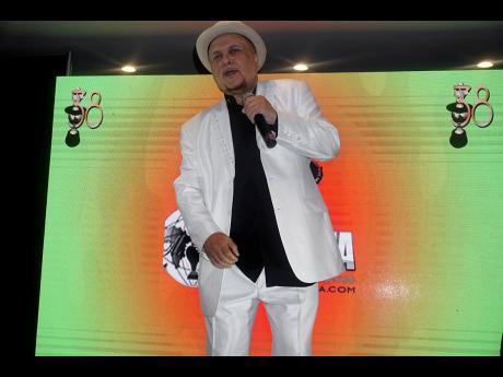 Dennis Al Capone performs at IRAWMA 2020 media launch.