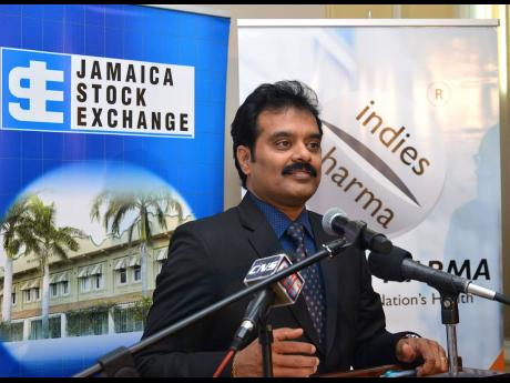 Dr Guna Muppuri, CEO and founder of Indies  Pharma  Jamaica  Ltd.