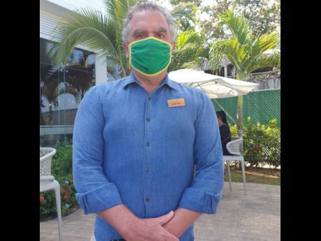 Justyn Jones, general manager of Azul Beach Resort.