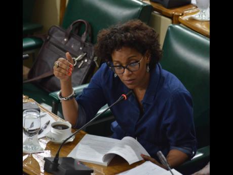 Dr Saphire Longmore, president of the Jamaica Psychiatric Association.