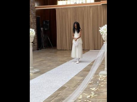 Sharing details of his daughter Kareema's wedding, King Yellowman said his granddaughter, Kaylee, was the flower girl.