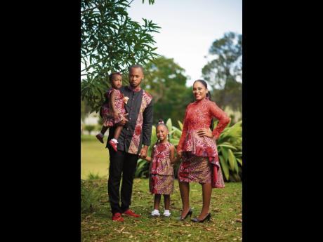 Media personalities and YouTubers of the Christian family channel, dubbed 'Stuff From The Cuffs, Brian and Basillia Cuff and their daughters, Bree'Ah-Marie and Bella-Renee.