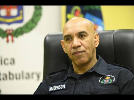 Major General Antony Anderson, commissioner of police.