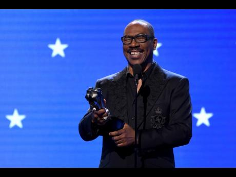 Actor Eddie Murphy has been inducted into the NAACP Image Awards Hall of Fame following last night's ceremony.