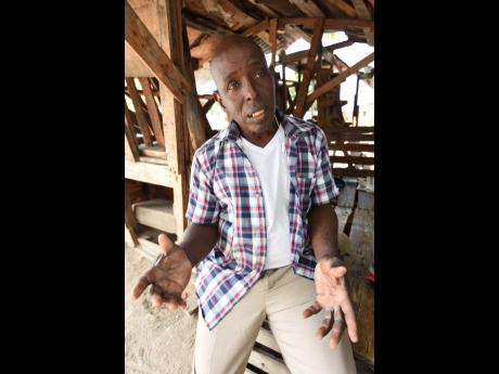 Winston Monroe, president of the Fishermen's Cooperative in Greenwich Town Fishing Village in Kingston.