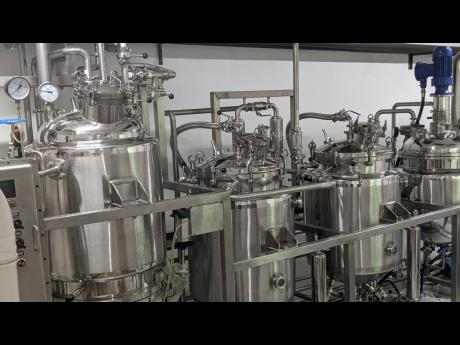 Outlier Biopharma's state-of-the-art closed loop variable temperature ethanol extraction machine.